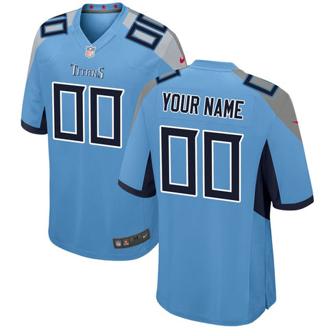 Tennessee Titans Game Jersey – Light blue