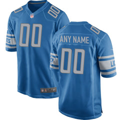 Detroit Lions Team Color Game Jersey - Blue