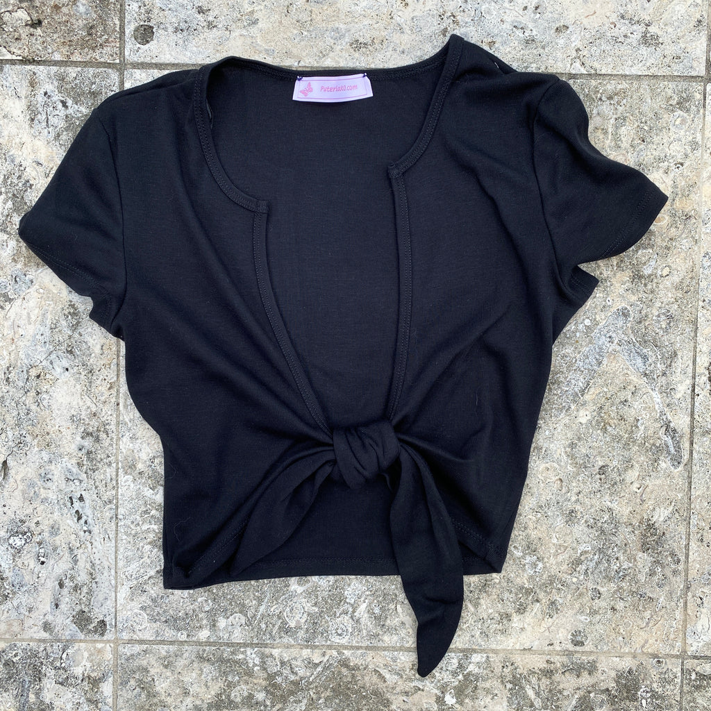 Ginna Top (  Black )