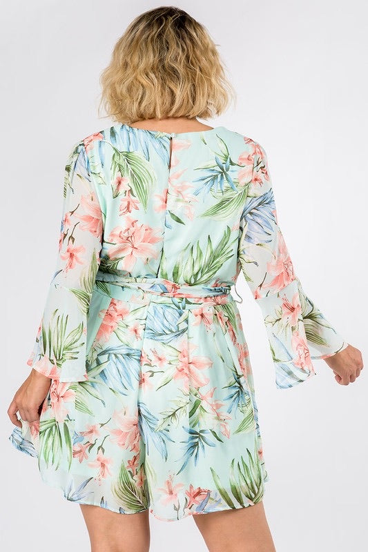 This is Love Romper - Mint
