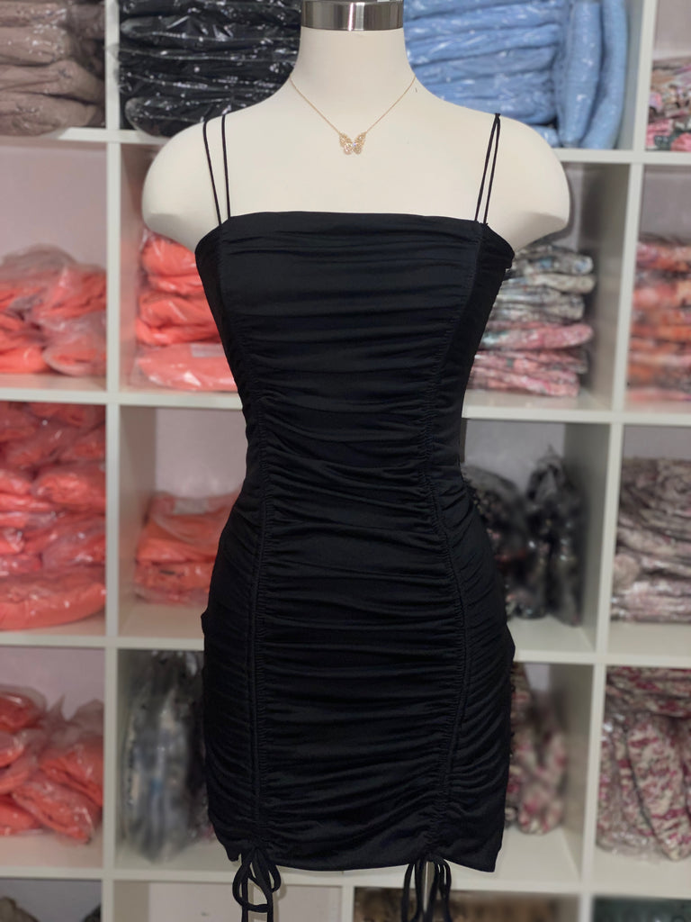 I Like the View Dress -Black