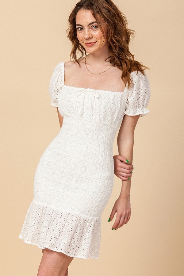 Misha Dress (White)