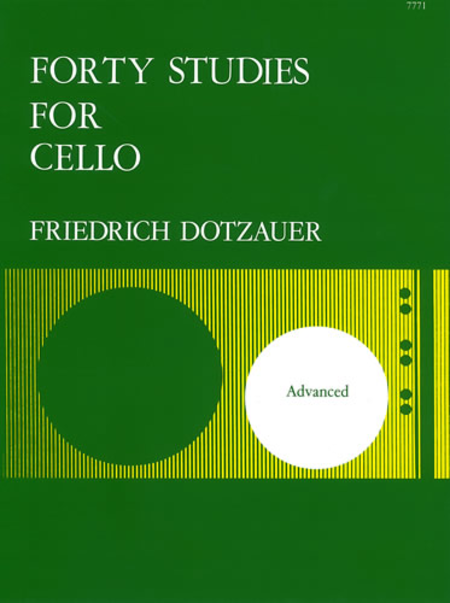Dotzauer Forty Studies For Cello - Dalseno String Studio