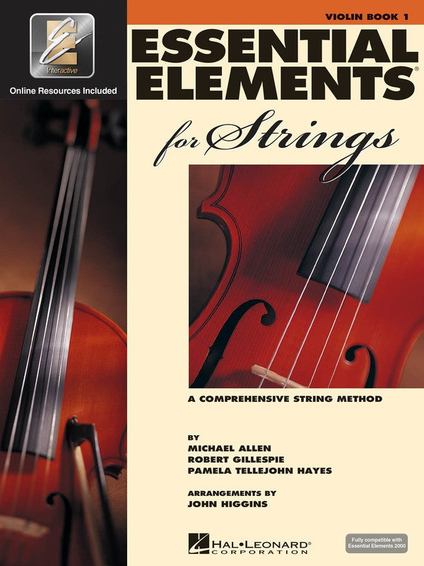Essential Elements for Strings Violin Book 1 - Dalseno String Studio