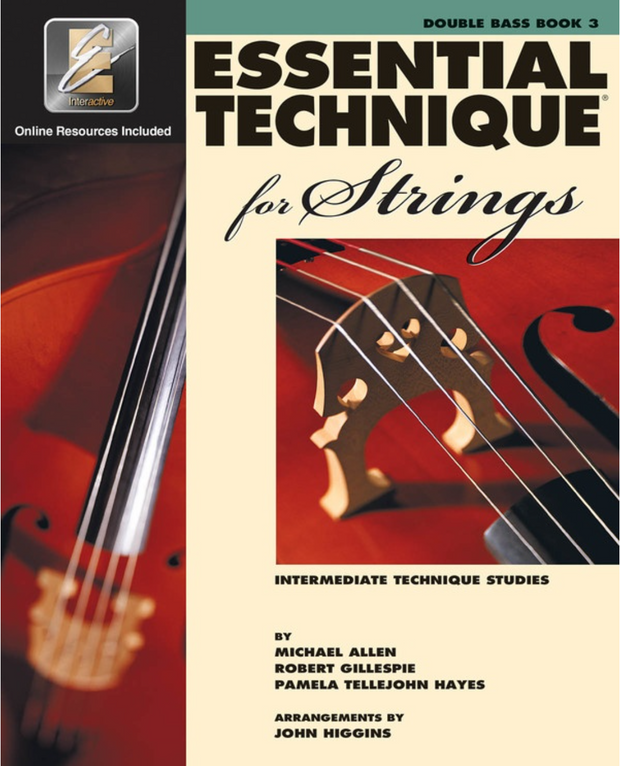Essential Elements for Strings - Double Bass