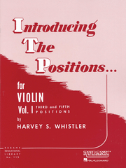 Introducing the Positions Book 1 by Whistler - Dalseno String Studio