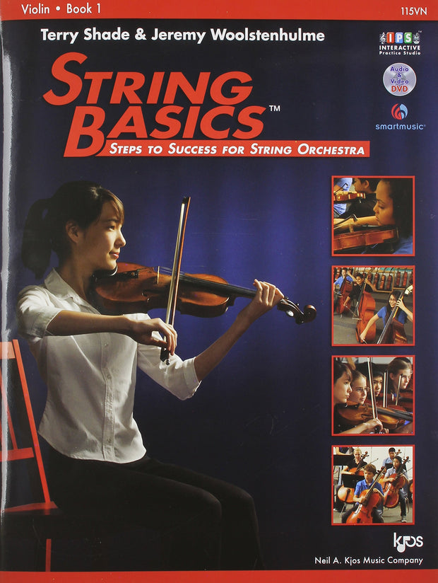 String Basics Violin Book 1 - Dalseno String Studio