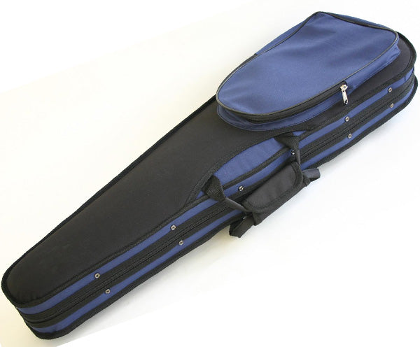 TG Violin Case Dart Deluxe - Blue/Black 1/4-4/4 - Dalseno String Studio