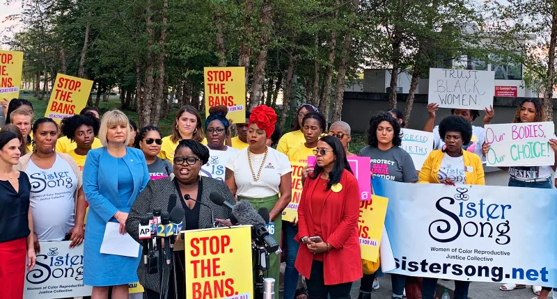 SisterSong reproductive justice rally