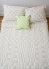 Dusen Dusen Coverlet Set Check - Queen