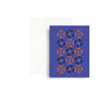 Mezzaluna Studio Greeting Card - Blue Raspberry