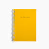 Poketo Daily Weekly Monthly Planner Small in Lemon