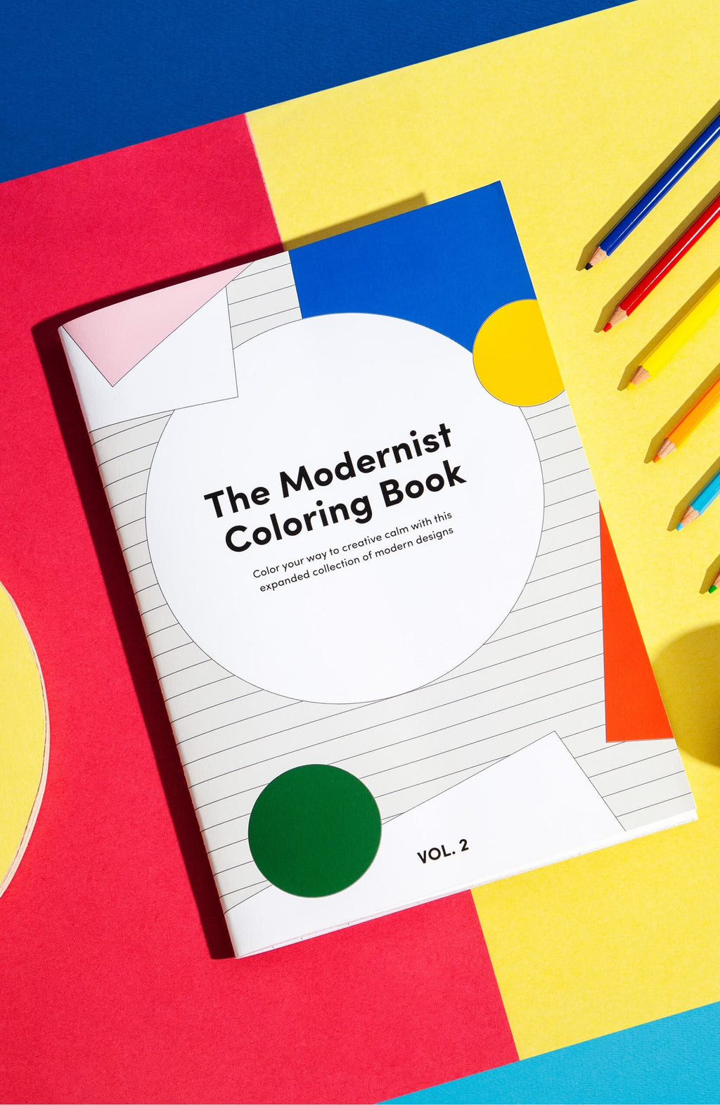 The Modernist Colouring Book