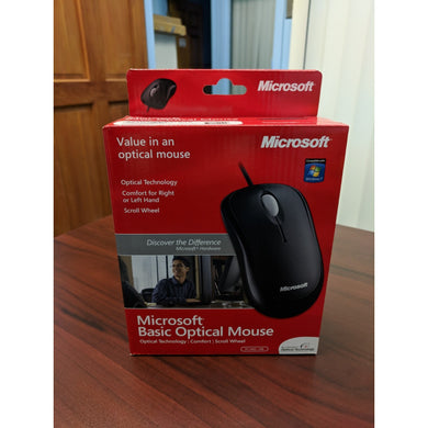 Buy a Microsoft Basic USB Optimal Mouse at Micropeer Toronto.