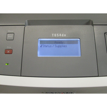 Load image into Gallery viewer, Buy a LEXMARK T654dn workgroup printer from Micropeer, vendor of new and used Lexmark printers in Toronto.