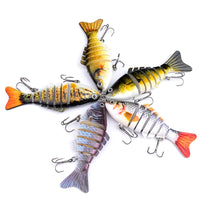 "3"" Lunker Supply signature swim bait"