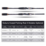 Goture Xceed 4 Section Rod with Portable Fishing Bag