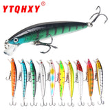 9.5cm Plastic Hard Bass Baits - 10 Colors
