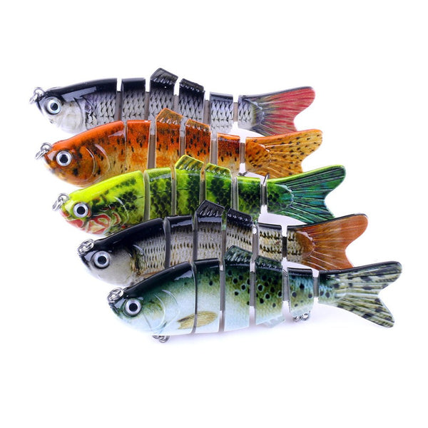 "4.5"" Lunker Supply Swim Bait Lures (Random Color) - Lunker Supply"