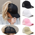 Womens Summer Ponytal Baseball Cap