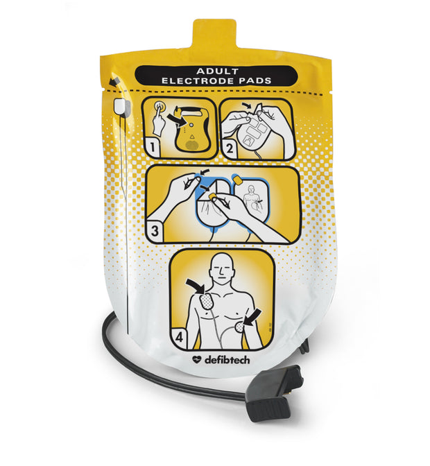 Adult Defibrillation Pads Package (DDP-100)