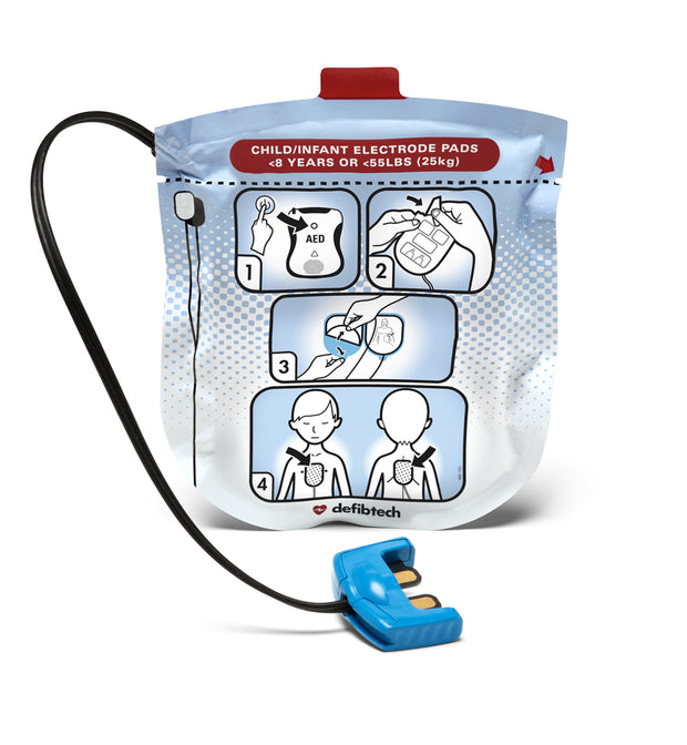 Pediatric Defibrillation Pads Package (DDP-2002)