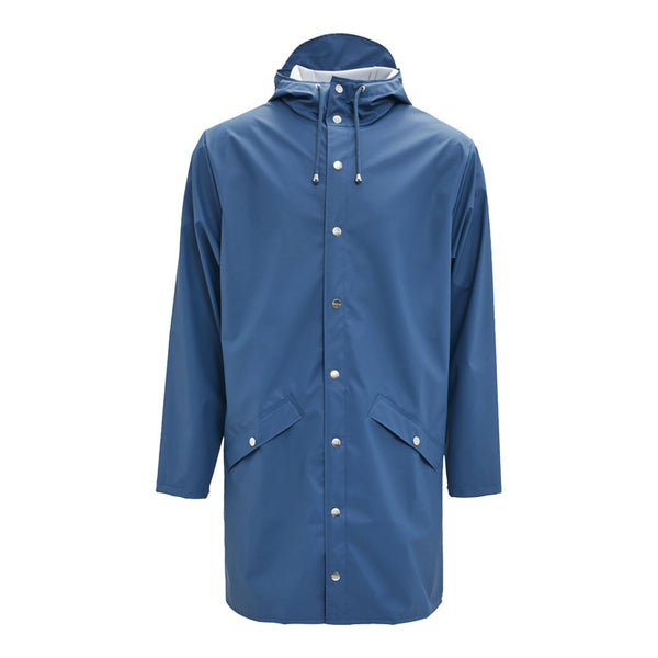 Raincoat Long Jacket Faded Blue