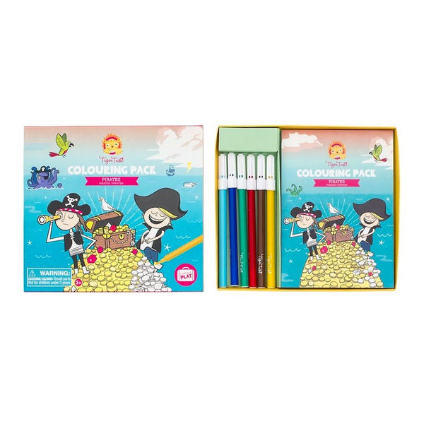 Colouring Pack Pirates