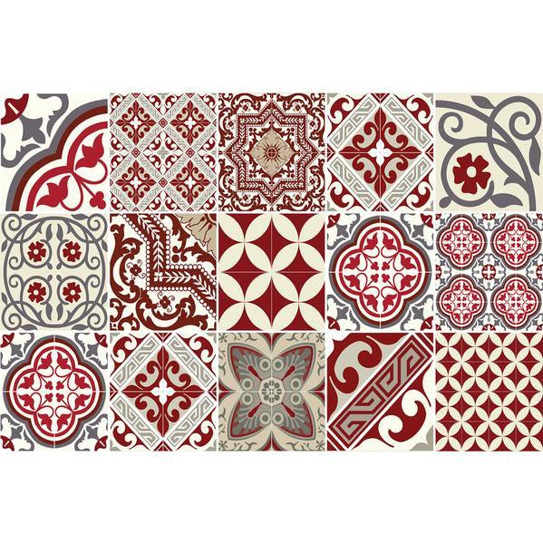 Placemat Red Eclectic Beija