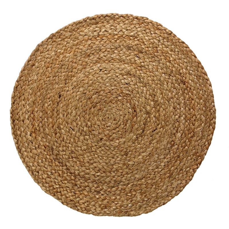 Placemat Natural Braided Jute 38cm