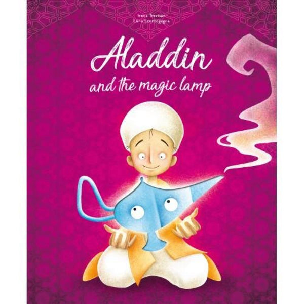 Aladdin  and the magic lamp die cut Book