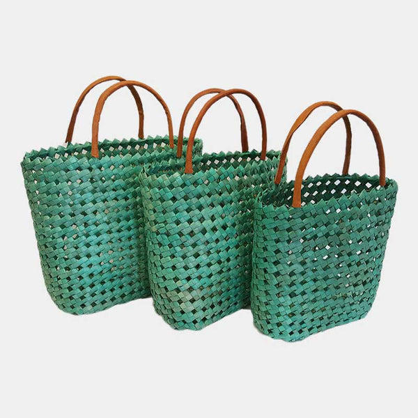 Basket Shopper Aqua
