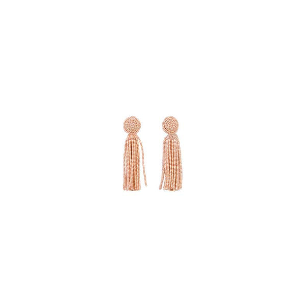 Gala Gold Tassel Earrings