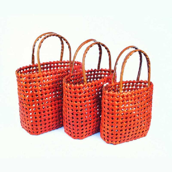Basket Shopper Orange