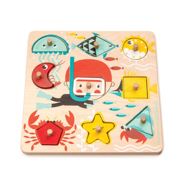 Underwater shapes Puzzle