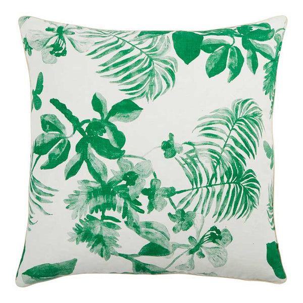 Green Palms Cushion 60x60cm
