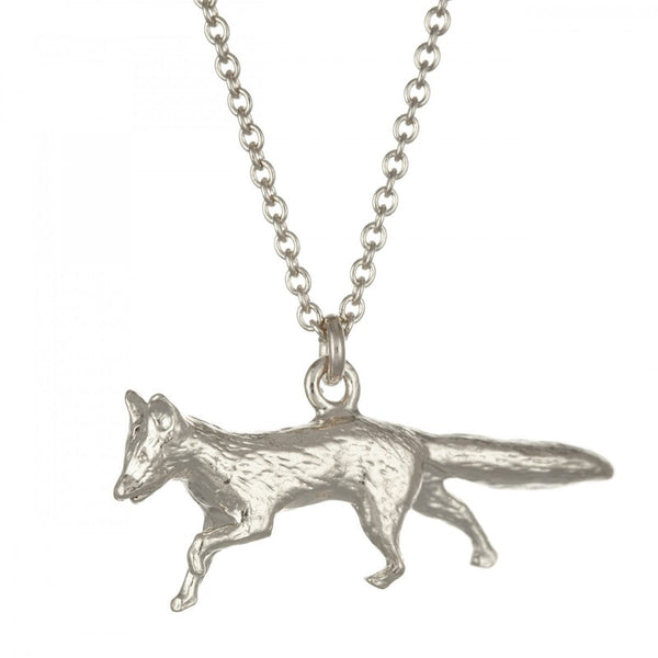 Necklace Silver Prowling Fox