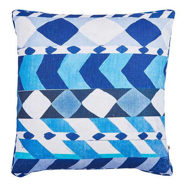Liquorice Blue Cushion 50x50cm