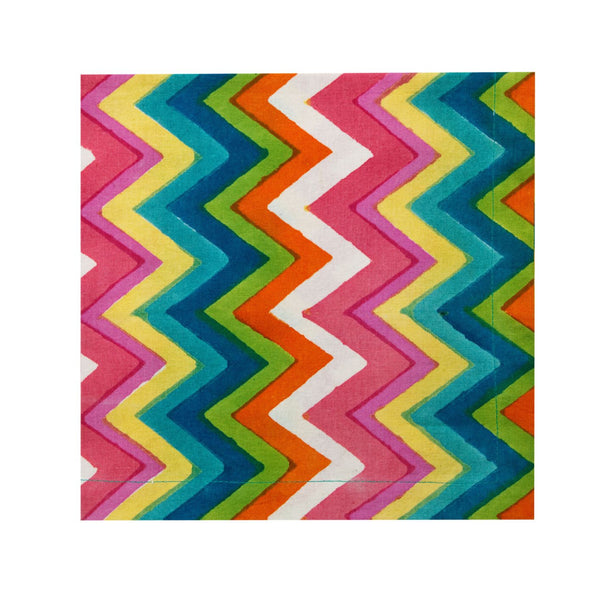 Napkin Set/12 Chevron