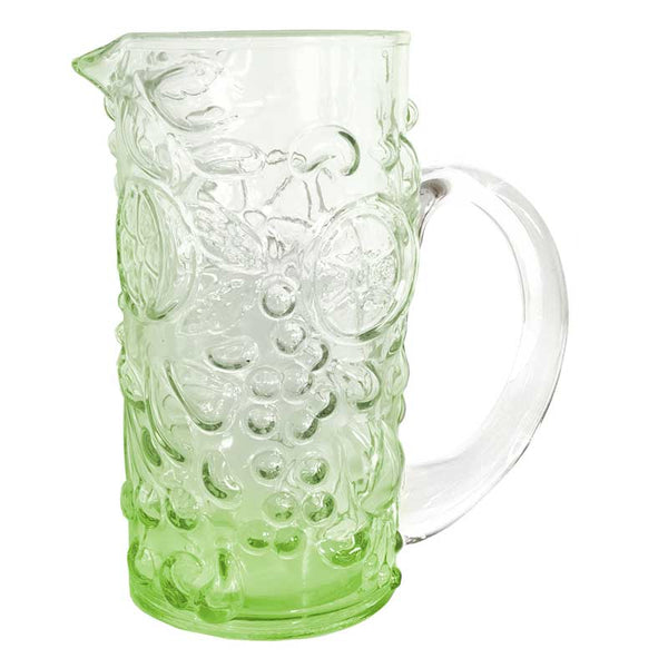 Pitcher Green Grape Embossed