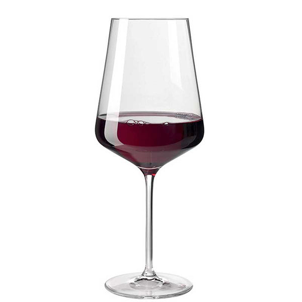Glass Red Wine Puccini