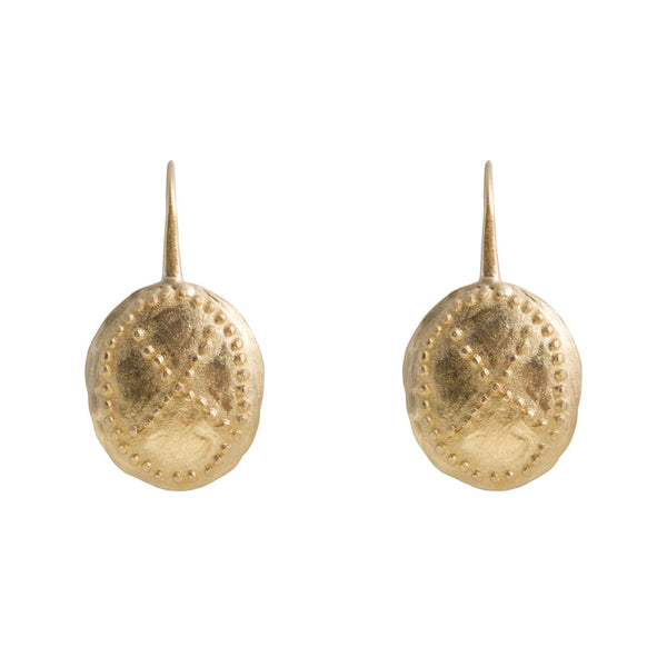 Earrings Gold Warrior Alexa