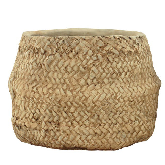 Planter Pot Natural Cement Rabia