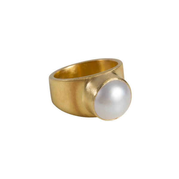 Ring Pearl Dome No.8