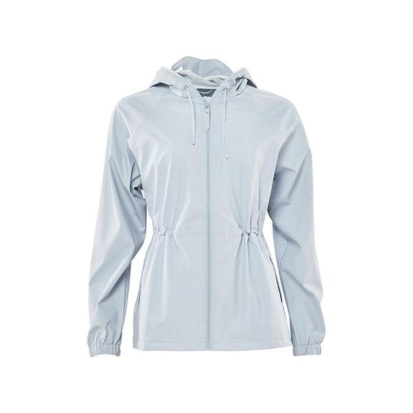 Raincoat W Jacket Ice Grey