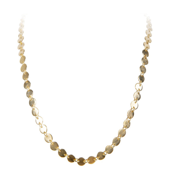 Necklace Gold Alexa Waterfall