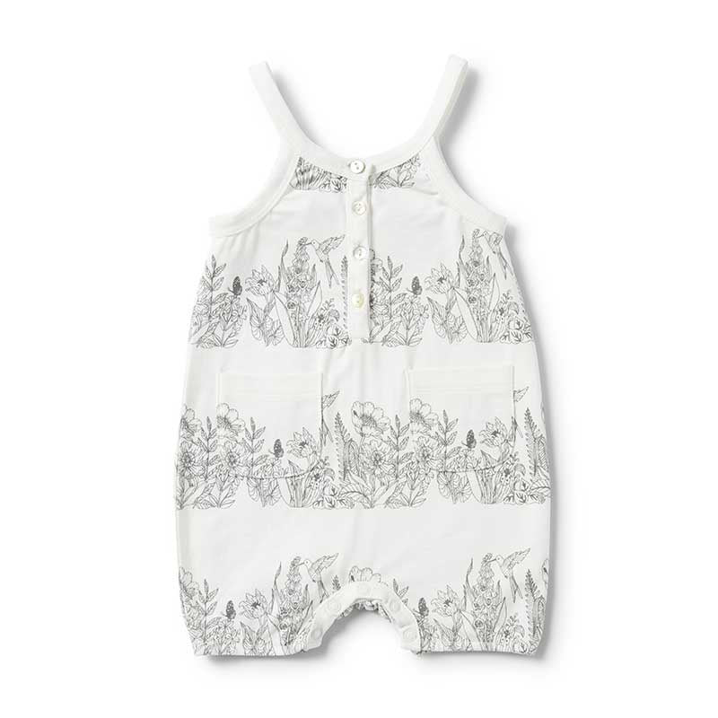 Wonderful Singlet Playsuit