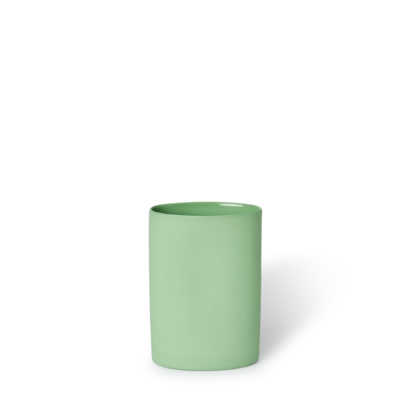Vase Oval Small Wasabi