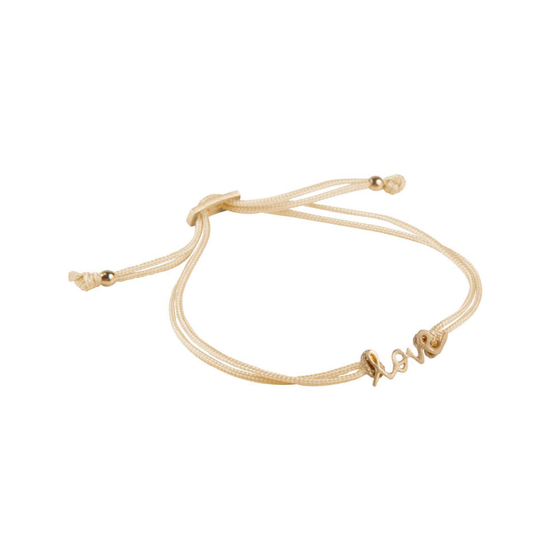 Bracelet Love Friendship Gold/Gold