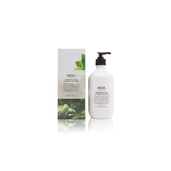 Cedarwood & Basil Cleansing Hand Wash